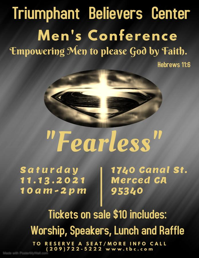 """Fearless"" Men's Conference - November 13, 2021"